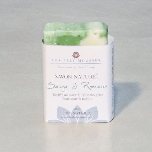 Sauge & Romarin - Savon Naturel