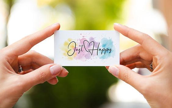 happy persönliches logo design erstellen kreieren lassen