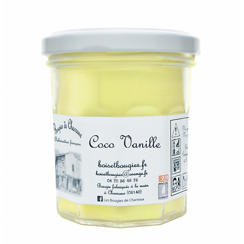 Bougie Coco Vanille