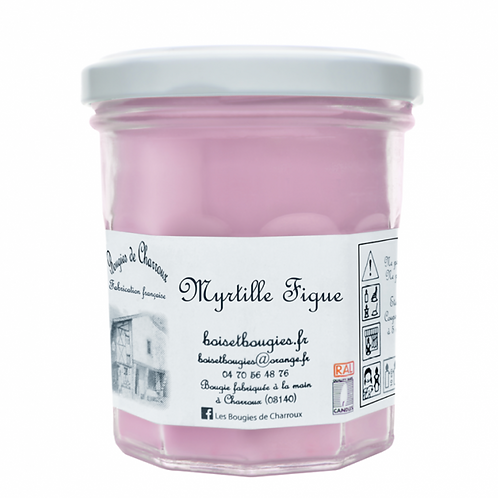 Bougie Myrtille-Figue