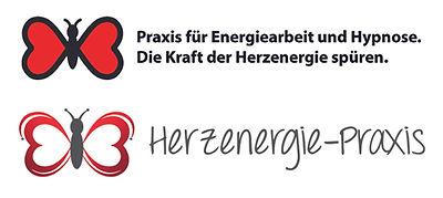 Herzenergie-Praxis vorher nachher redesign logo