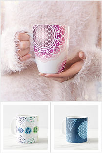 Tassen mandala chakra metatron online kaufen schweiz