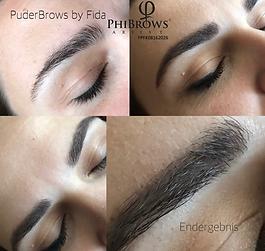 PuderBrows-Phibrows-artist-Fida-fidare-kosmetik-bern