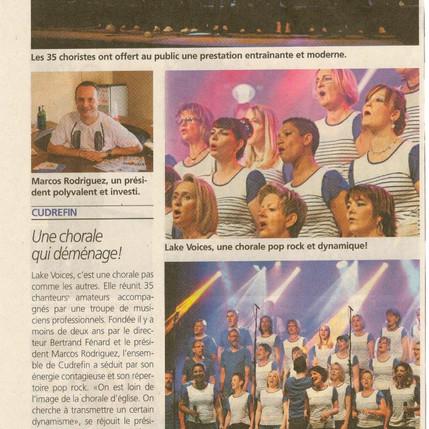 Journal de la Broye 15.05.2015