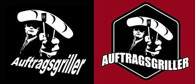 Auftragsgriller vorher nachher redesign logo