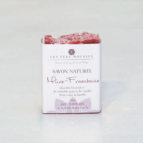 Mure-Framboise - Savon Naturel