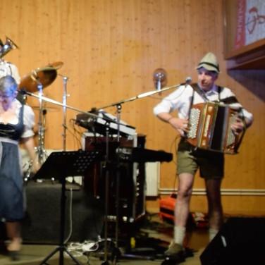 L'orchestre en fête de la bière