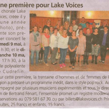 Journal de la Broye 07.05.2015
