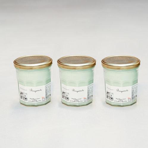 Bougies en differentes senteurs (Fleuri)