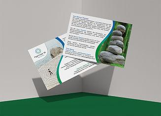 Theo Bissig hypnose flyer postkarte logo erstellen vorschläge ideen