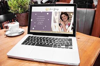 personal & business coach webdesign homepage erstellen persönlich design gold logo