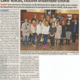 Journal de la Broye 24.04.2014