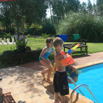 Turismo-Rural-família-Casa-de-férias-com-piscina-Quinta-Crianças