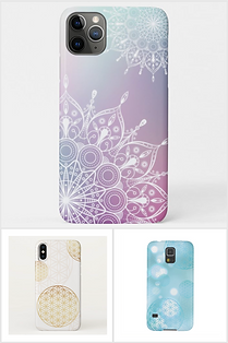 handy hülle iphone case blume des lebens mandala energetisch schweiz online kaufen samsung
