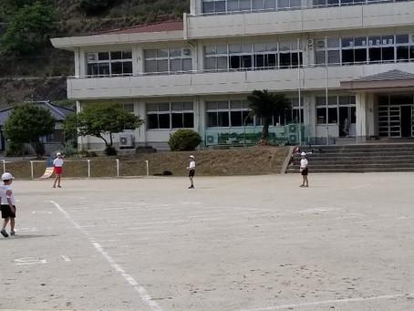 小学校体育大会の練習がんばっています!