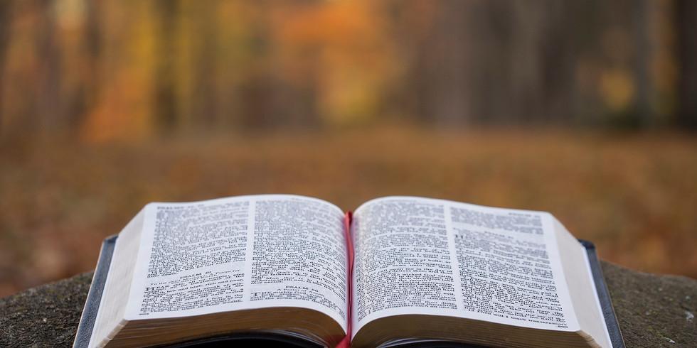 Bible Study @ Blue Light Ministries Office