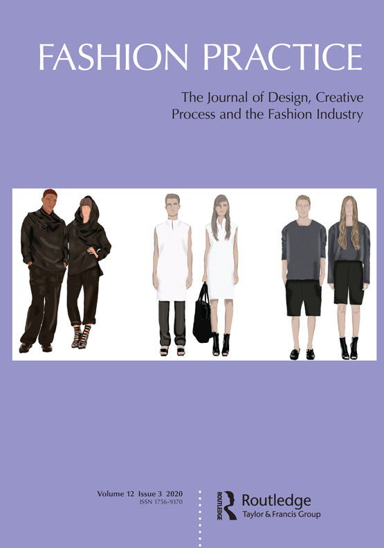 Cover Illustration for Fashion Practice (Volume 12, Issue 3)