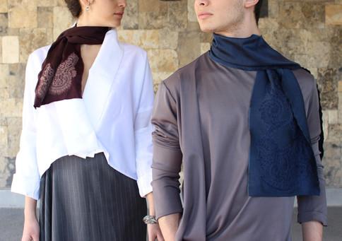 Silk Scarves shot by Kaisser Lens
