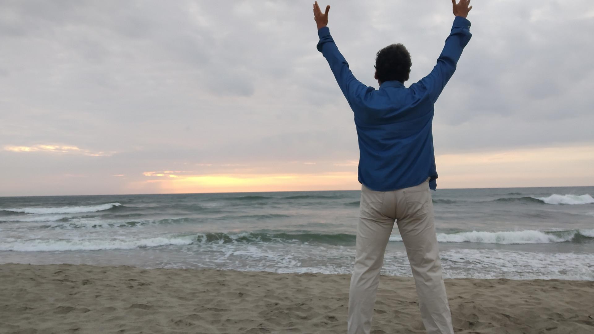 Greeting the Heaven