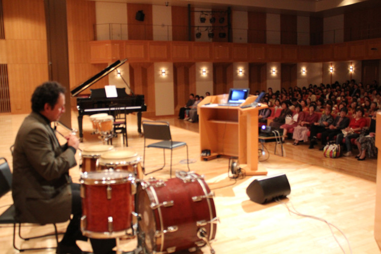 Concert and Conference, University of Tokyo (Piano &Percussion)