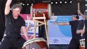 Taiko Drums performance - Munich Festivl