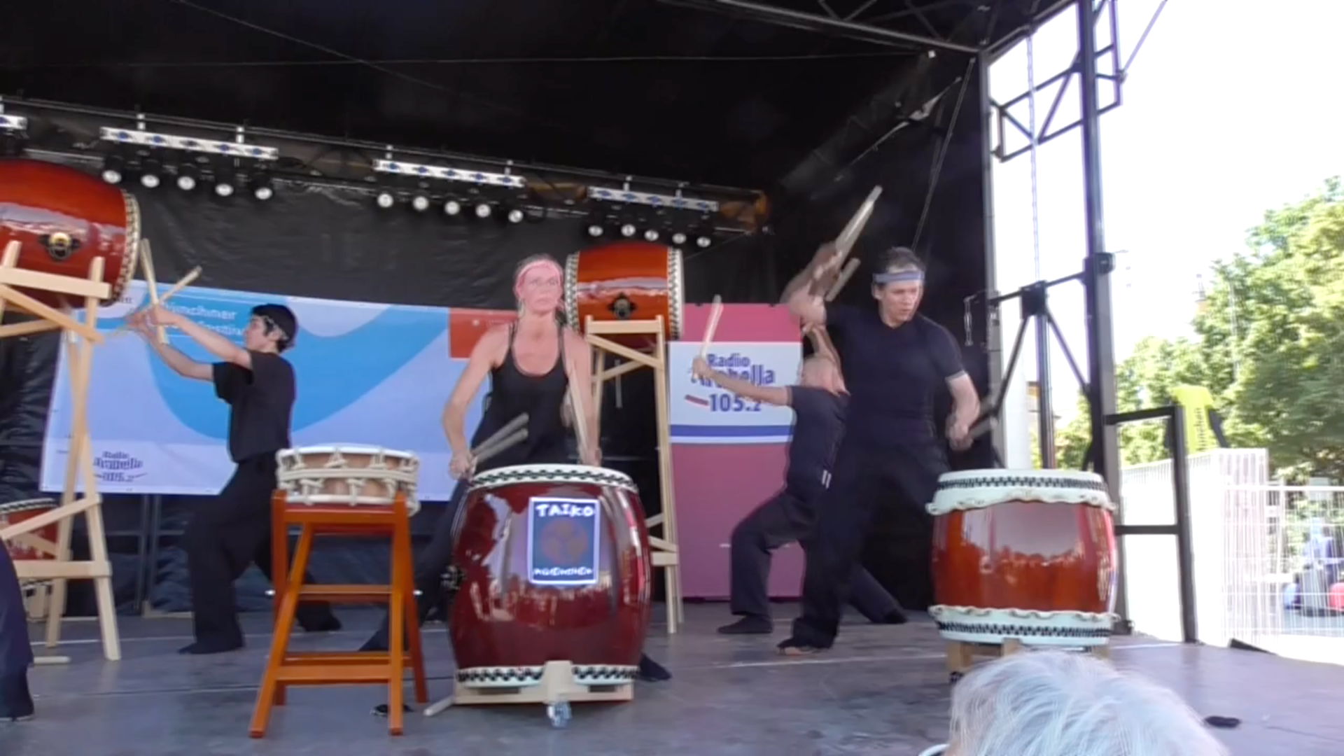 Taiko Drums ensemble - Munich Festival