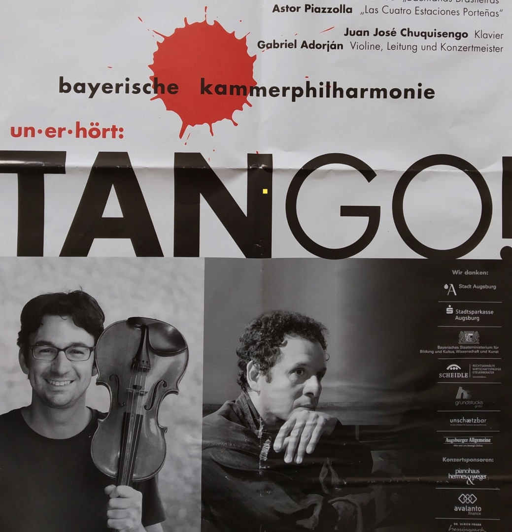 Poster World Premiere of Tango Metamorph