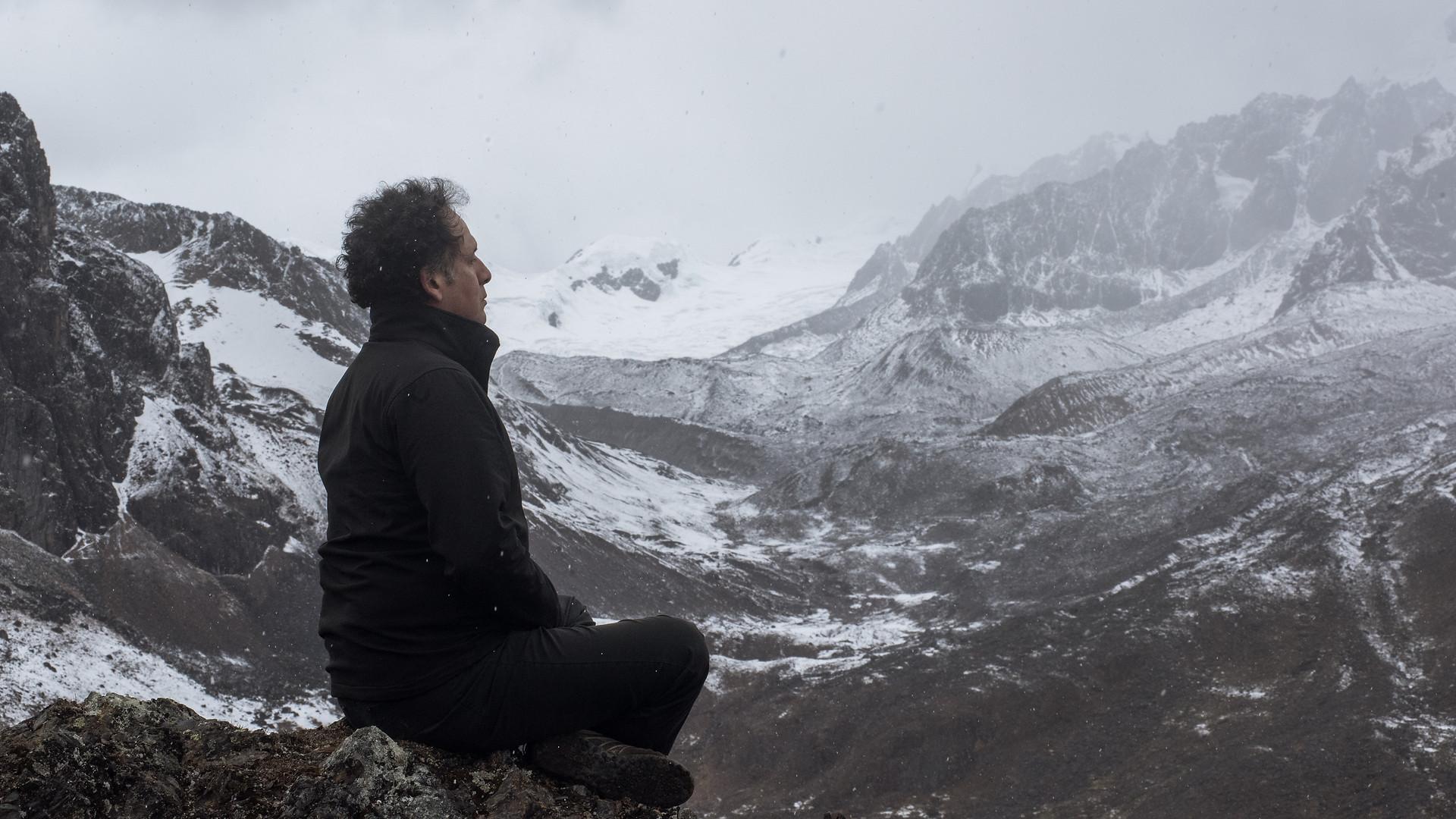 Meditation at 4.900 mt