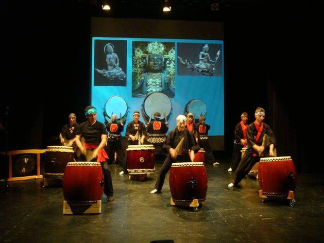 Concert with japanese Drums - Taiko