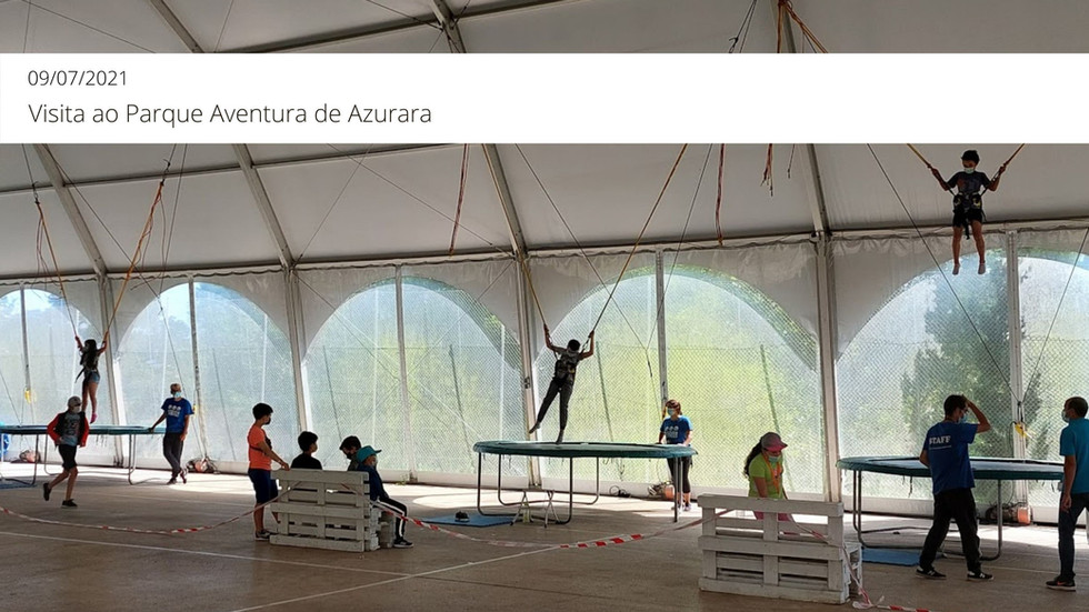 Visita ao Parque Aventura de Azurara