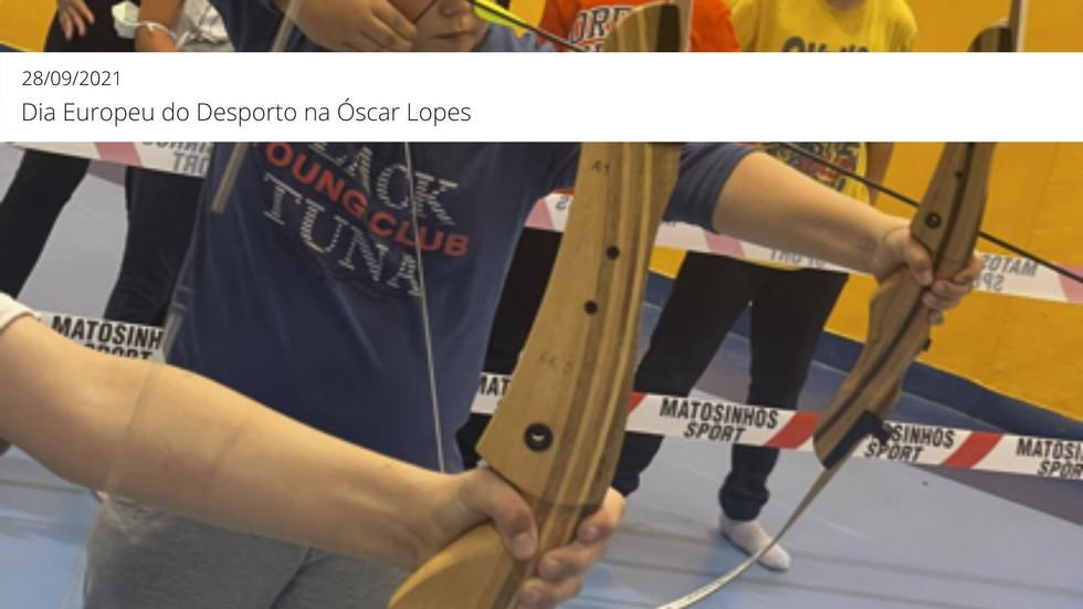 Dia Europeu do Desporto na Óscar Lopes