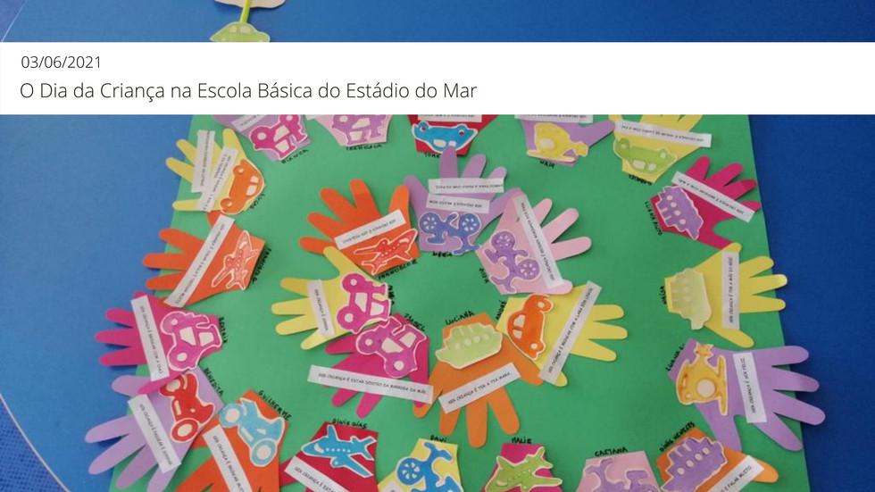 O Dia da Criança na Escola Básica Estádio do Mar
