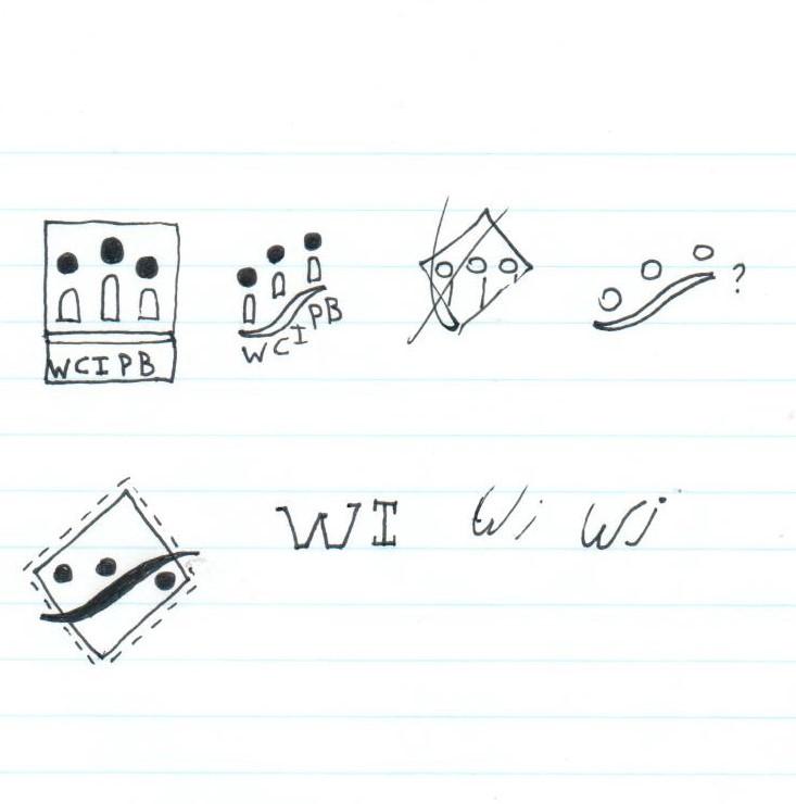 WCIPB Logo Sketches
