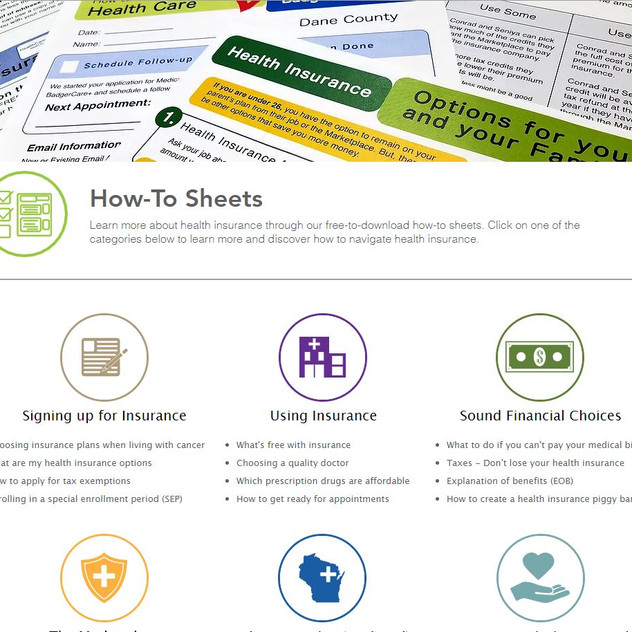 Covering Wisconsin How-to Sheets 2019