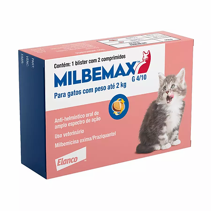 Milbemax G - 2 comprimidos