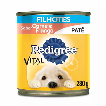Pedigree Lata Filhotes - Sabor Carne e Frango - 280 g
