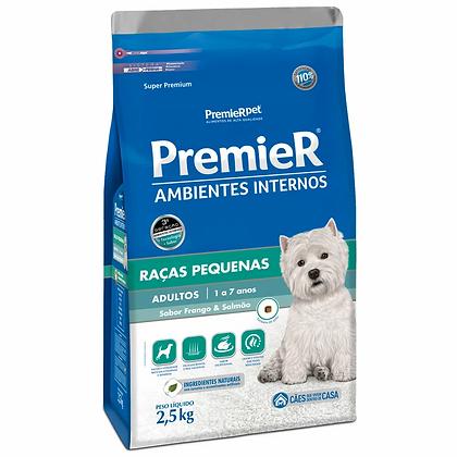 Premier Ambientes Internos Cães Adultos Raças Pequenas - 2,5 kg