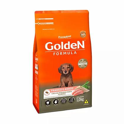 Golden Cães Filhotes Raças Pequenas - Frango e Arroz - 1 Kg
