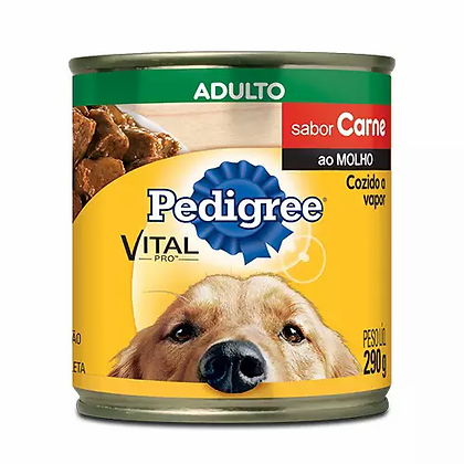 Pedigree Lata Adultos - Sabor Carne ao Molho - 280 g