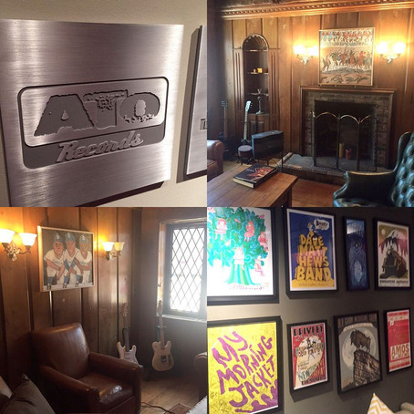 """Inside the (old) ATO Records """"Cabin"""""""