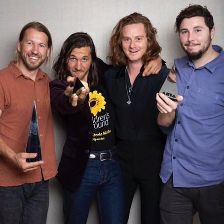 The Teskey Brothers win 3 Australian ARIA awards