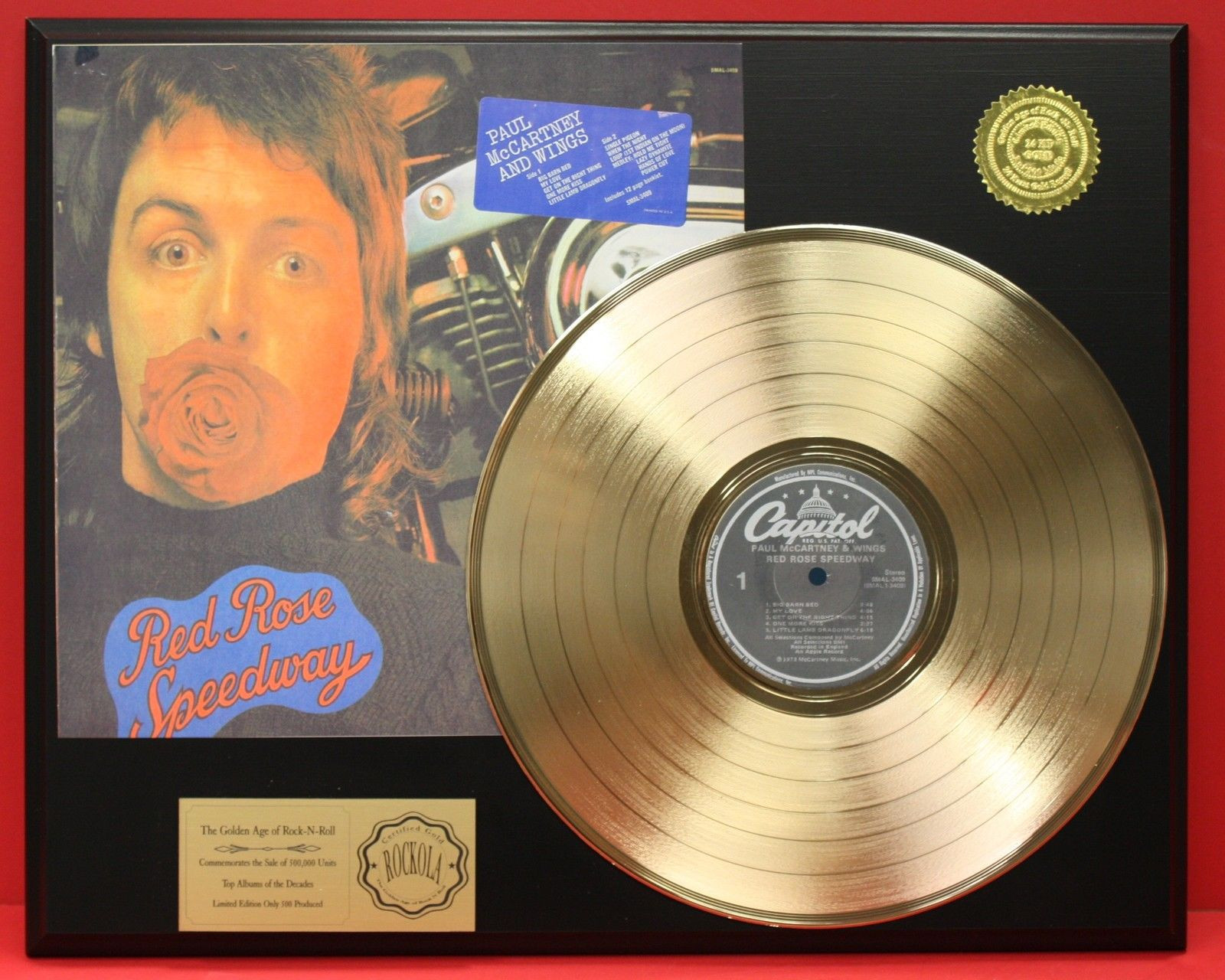 Red Rose Speedway: McCartney's most melodic album  And, by