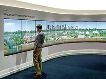 Mur d'écrans tactile Alizey Technology