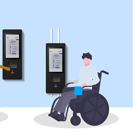 Adaptée aux personnes à mobilité réduite