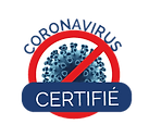 Certifié Anti-COVID19