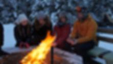 Värme vid elden