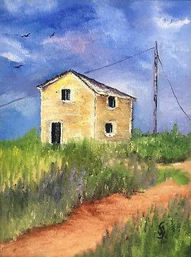 Margaret W., North Rustico, oil on canva