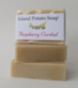 Island Potato Soap - Raspberry Cordial.J