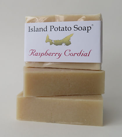 Island Potato Soap - Raspberry Cordial.J