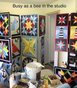 Ellen - 2 - Workshop  - Busy as a Bee in